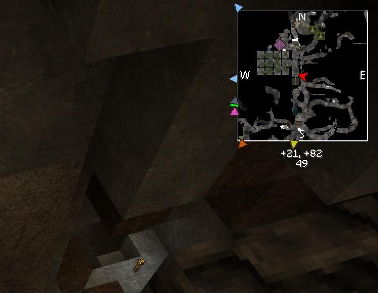 Режим мини карты для исследования подземелий Майнкрафт VoxelMap