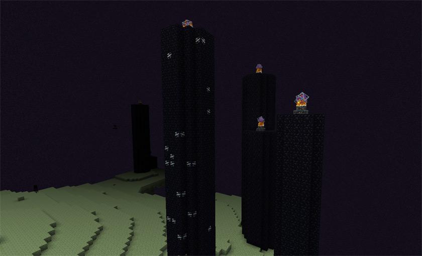 Измерение Край в Майнкрафт (The End Dimension)