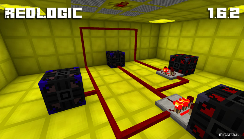 Мод RedLogic для Майнкрафт 1.6.2