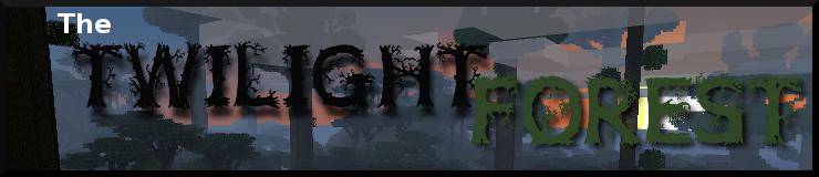 The Twilight Forest (Мод Сумеречный лес)